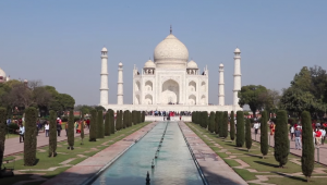 Taj Mahal in all its wonders